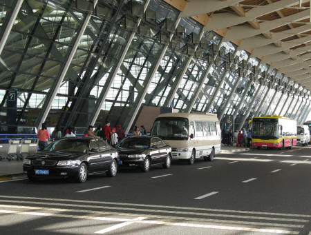 Transfers from Pudong International Airport