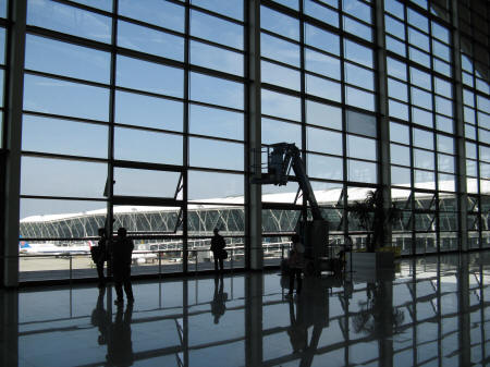 International Flights to Pudong Airport