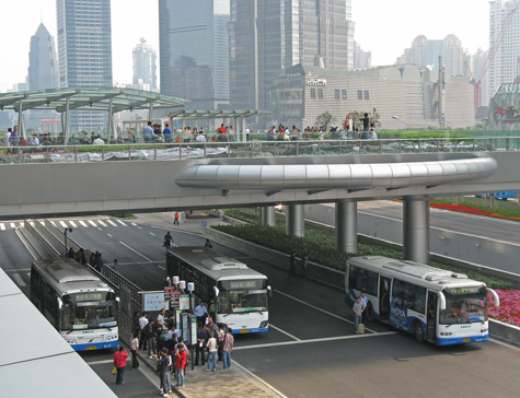 Transportation in Pudong China