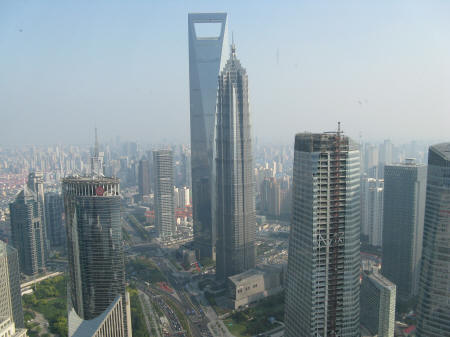 World Financial Center in Pudong